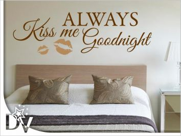 ALWAYS KISS ME GOODNIGHT falmatrica 13.