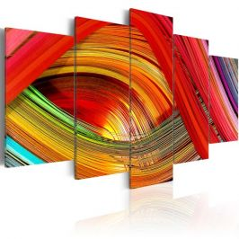 Kép - Colorful strips abstraction