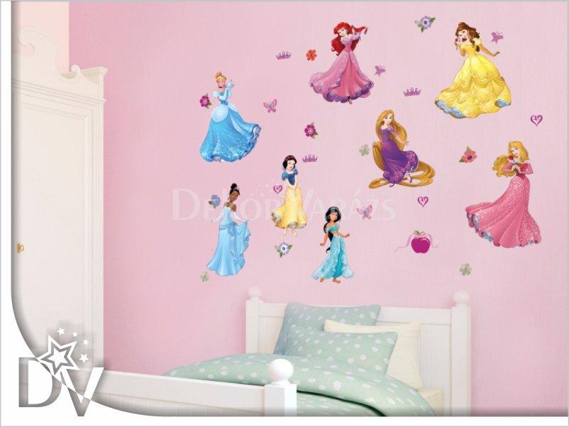 Disney hercegnők falmatrica szett